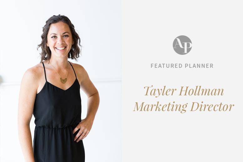 Aisle Planner Marketing Director Tayler Hollman